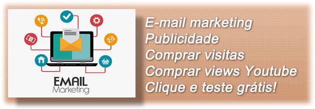 Email marketing Criar Site Web