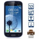 MP70 i9300 Android 4.0 SmartPhone WVGA Dual SIM 1GHz (Royal Blue)